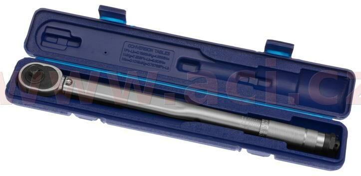 """Obrázek produktu momentový klíč s ráčnou 1/2"""", 28-210Nm, délka 460 mm"""