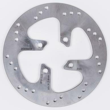 Obrázek produktu brzdový kotouč přední, BRAKING