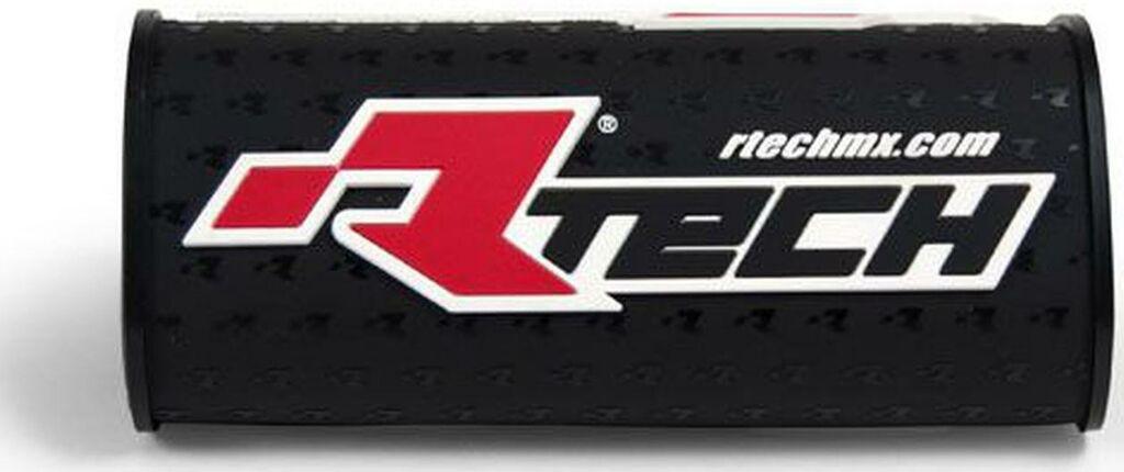 """Obrázek produktu chránič na bezhrazdová řídítka s nápisem """"Rtech"""" (pro průměr 28,6 mm), RTECH (černý) R-PCMNBNR0018"""