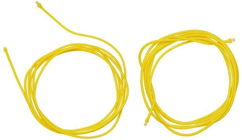Obrázek produktu náhradní tkaničky do vnitřní botičky pro boty Supertech R a systém vázání bot SMX Plus, ALPINESTARS (žluté, pár)