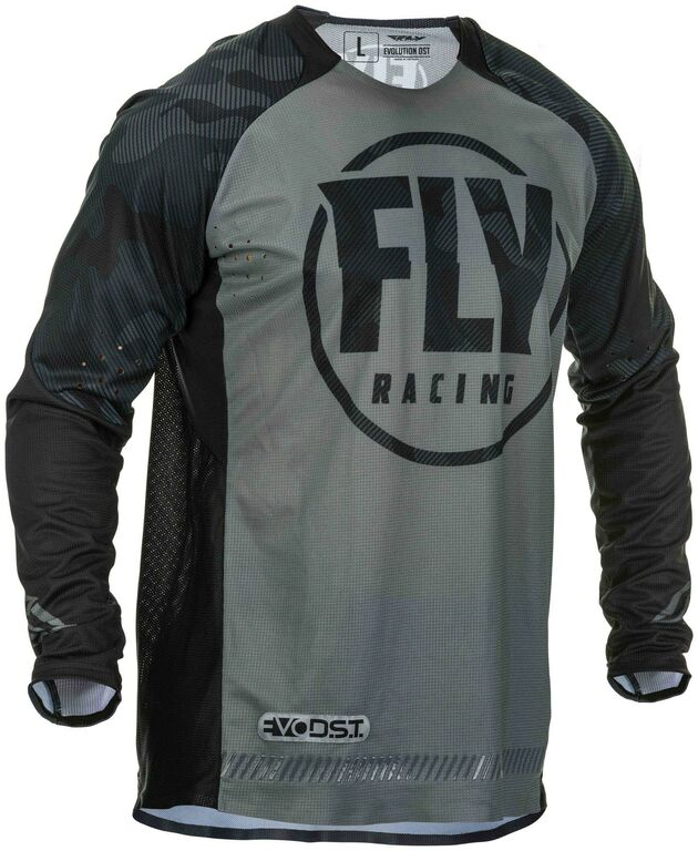 Obrázek produktu dres EVOLUTION 2020, FLY RACING (černá/šedá) 373-220