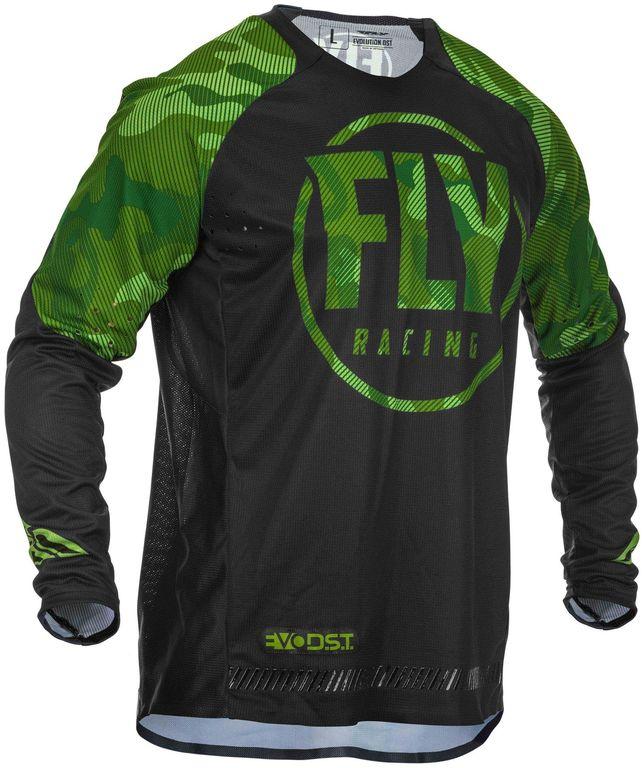 Obrázek produktu dres EVOLUTION 2020, FLY RACING (zelená/černá) 373-224