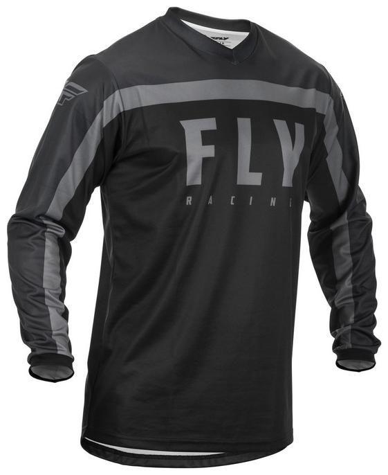 Obrázek produktu dres F-16 2020, FLY RACING dětská (černá/šedá) 373-920Y