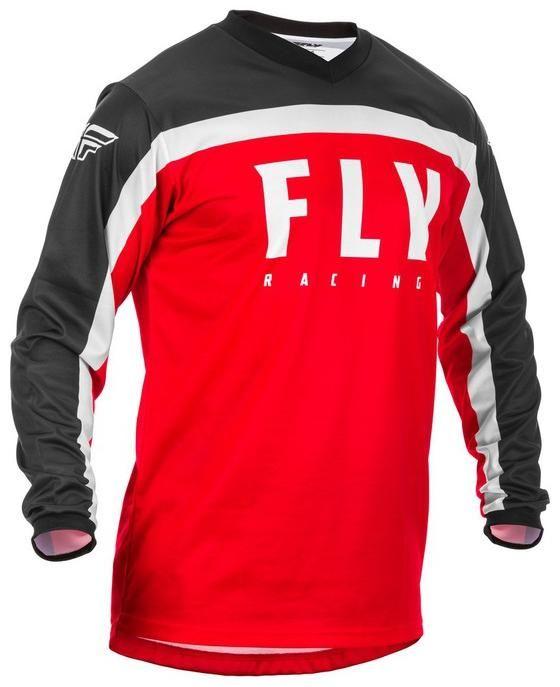 Obrázek produktu dres F-16 2020, FLY RACING dětská (červená/černá/bílá) 373-923Y
