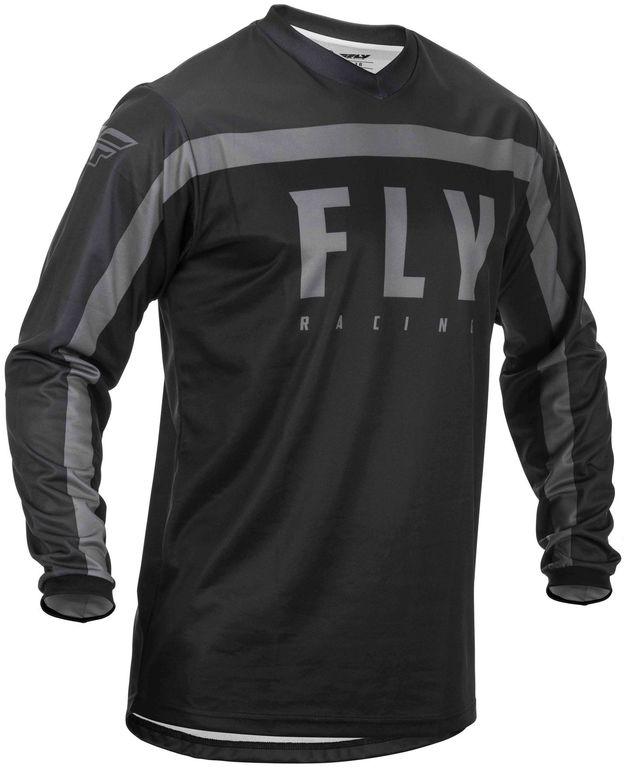 Obrázek produktu dres F-16 2020, FLY RACING (černá/šedá) 373-920