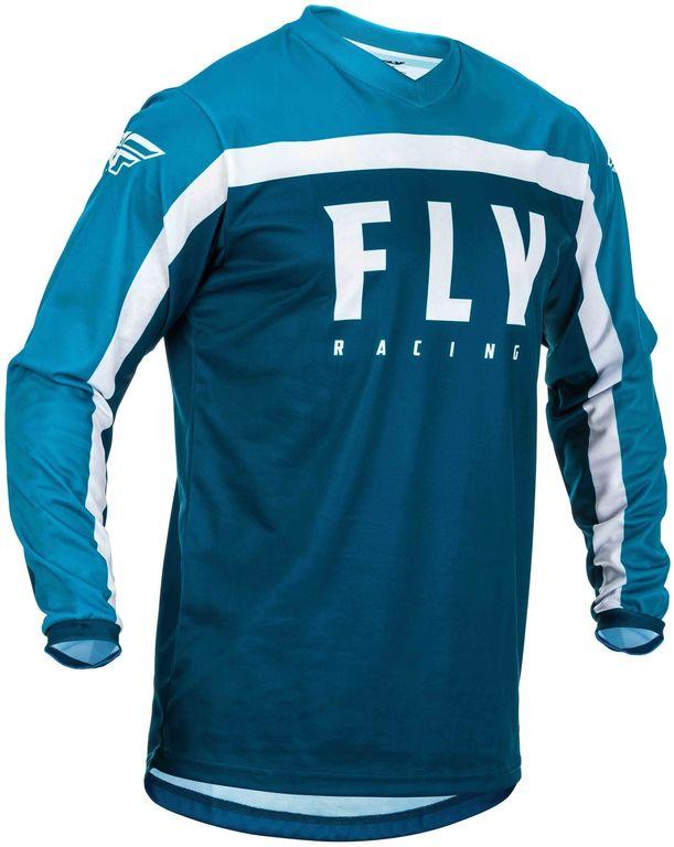 Obrázek produktu dres F-16 2020, FLY RACING (modrá/bílá) 373-921