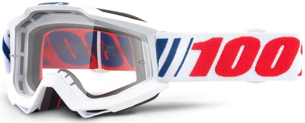 Obrázek produktu brýle ACCURI AF066, 100% - USA (čiré plexi) 50200-342-02