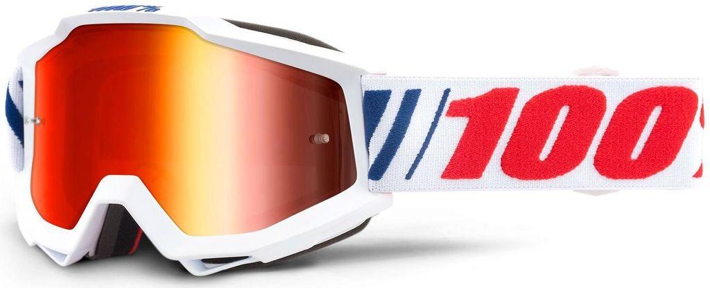 Obrázek produktu brýle ACCURI AF066, 100% - USA (červené zrcadlové plexi) 50210-342-02