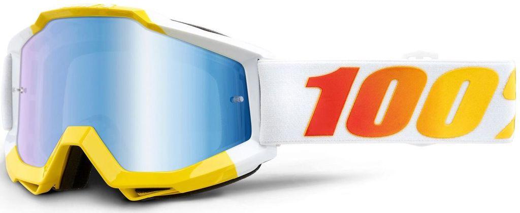 Obrázek produktu brýle ACCURI ASTRA, 100% - USA (modré zrcadlové plexi) 50210-344-02