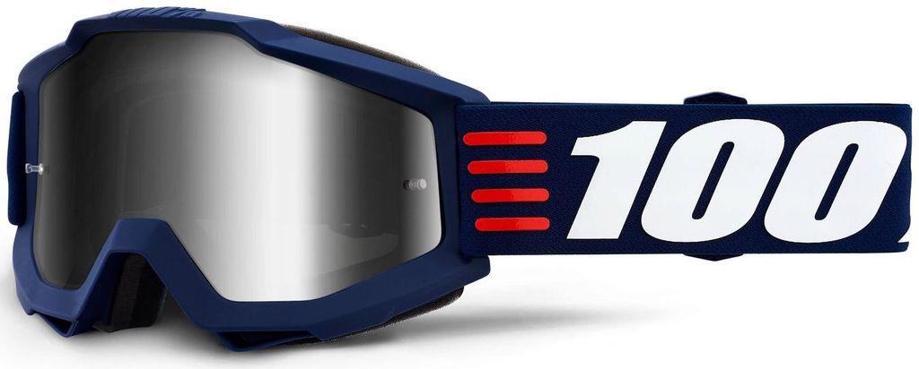 Obrázek produktu brýle ACCURI ART DECO, 100% - USA (stříbrné zrcadlové plexi) 50210-348-02