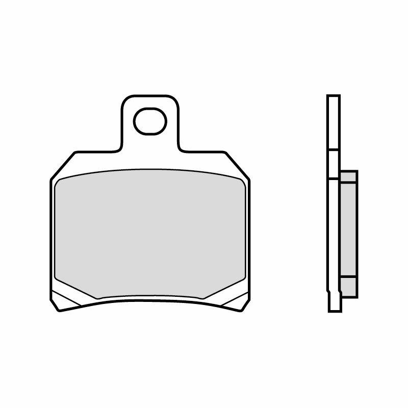 Obrázek produktu Brzdové destičky BREMBO CC ROAD