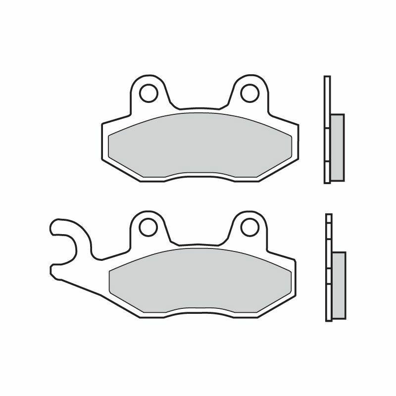 Obrázek produktu Brzdové destičky BREMBO SD Levá