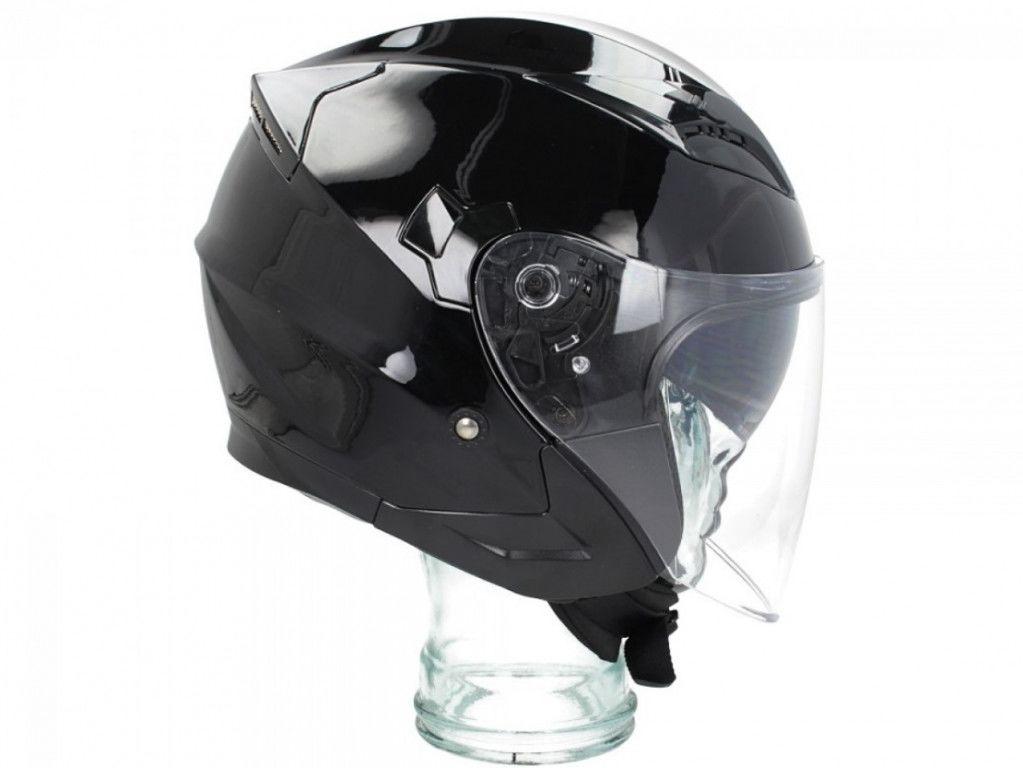 Obrázek produktu Přilba SHIRO SH-450 lesklá černá XL 128.0450010XL