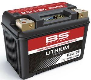 Obrázek produktu Lithiová motocyklová baterie BS-BATTERY