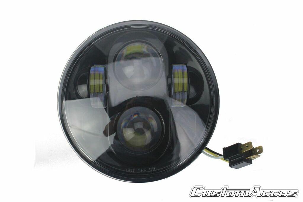 Obrázek produktu Maska se světlem CUSTOMACCES OVNI černý HL0001N