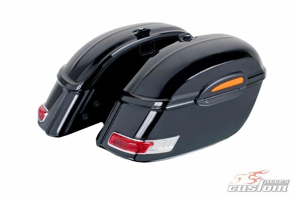 Obrázek produktu Boční kufry CUSTOMACCES TOURING černý pár ARS002N