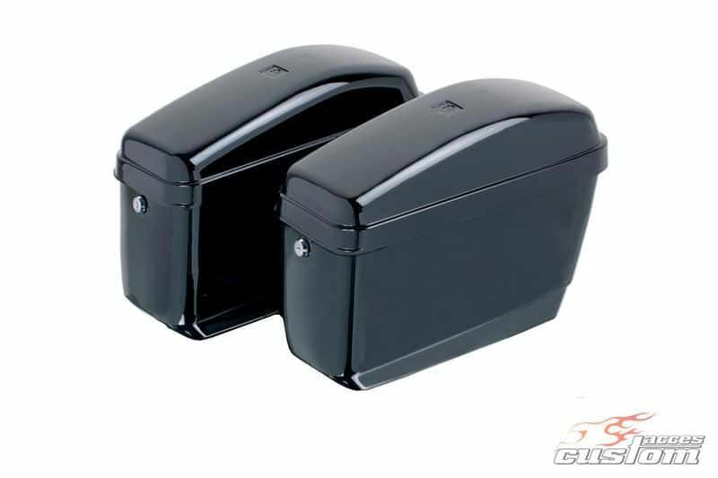 Obrázek produktu Boční kufry CUSTOMACCES EASY černý pár ARS003N