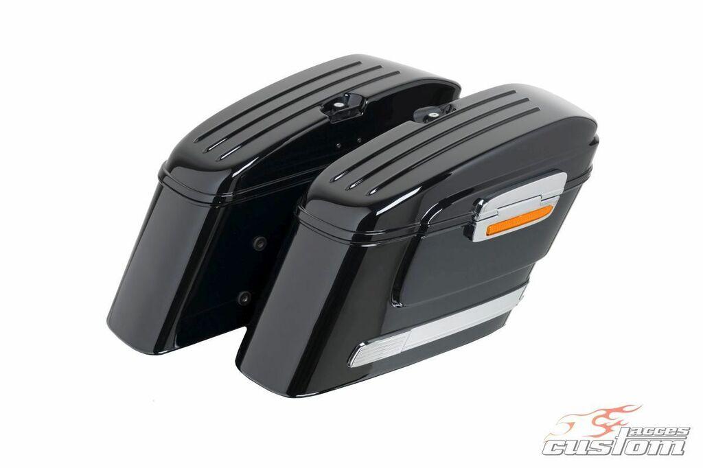 Obrázek produktu Boční kufry CUSTOMACCES AMERICAN černý pár ARS005N