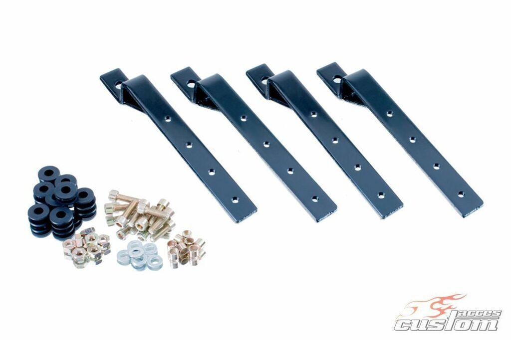 Obrázek produktu Podpěry bočních kufrů CUSTOMACCES KF černý KF0002N