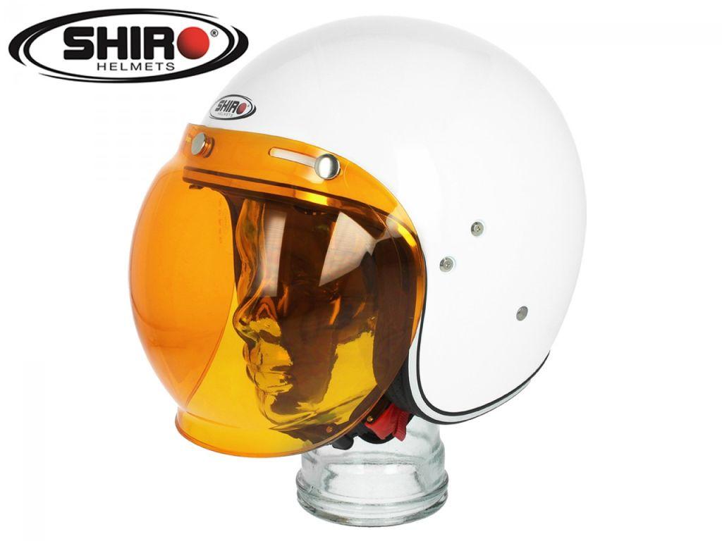 Obrázek produktu Bubble Visor SHIRO SH235 oranžová odolné proti poškrábání 128.8005041