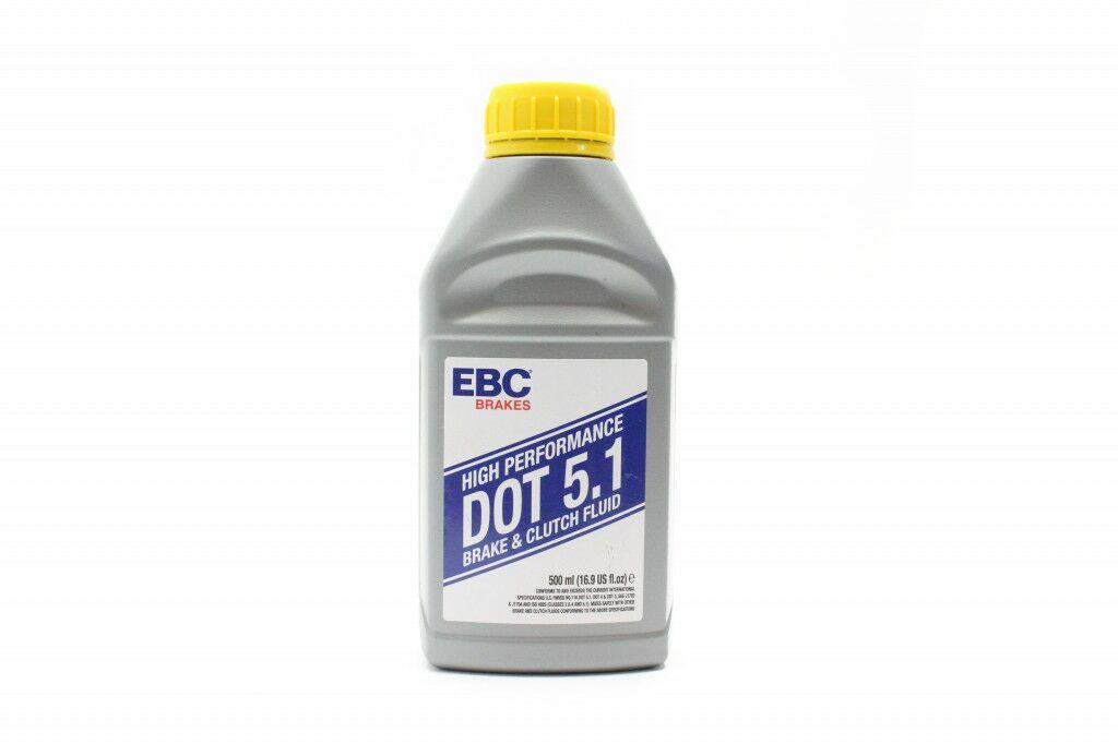 Obrázek produktu Brzdová kapalina EBC Dot 5.1 500 ml