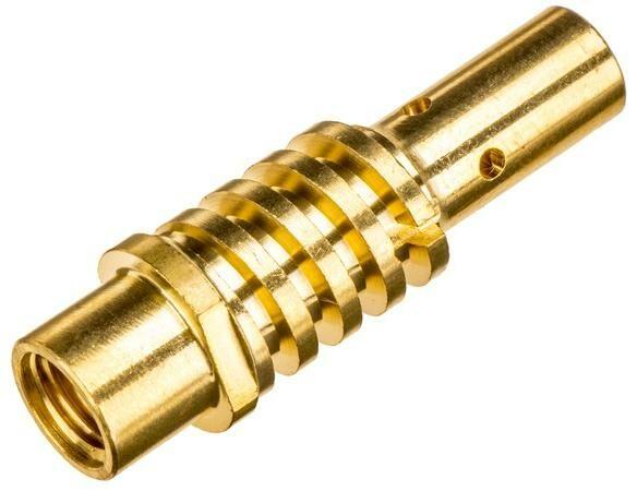 Obrázek produktu držák kontaktní trubičky M6 pro hořák 150 A (sada 5ks) 042902