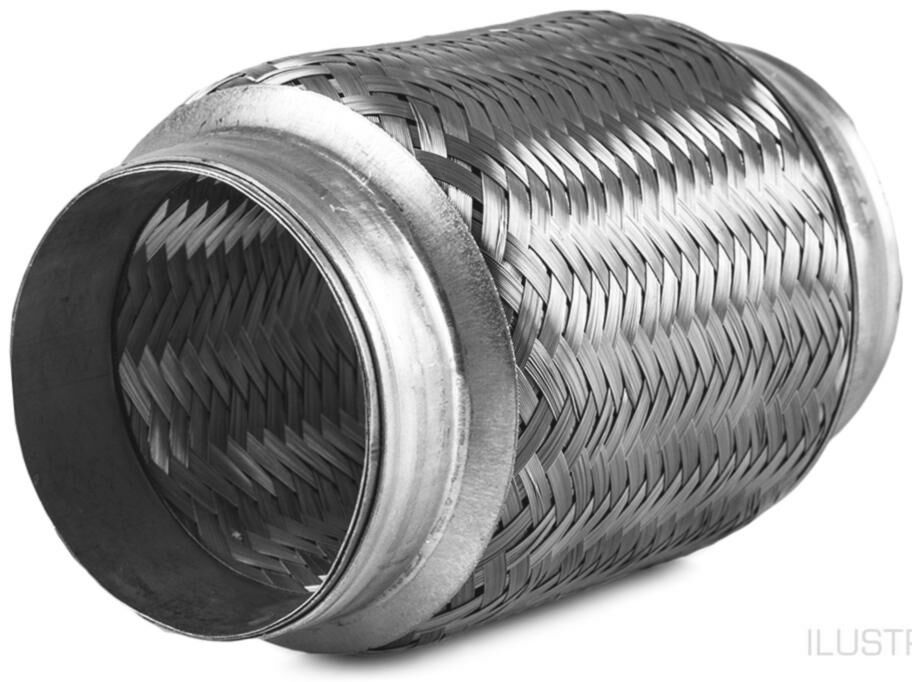 Obrázek produktu pružný člen výfuku STANDARD, vnitř. průměr 75 mm / celk. délka 100 mm 75/100/2