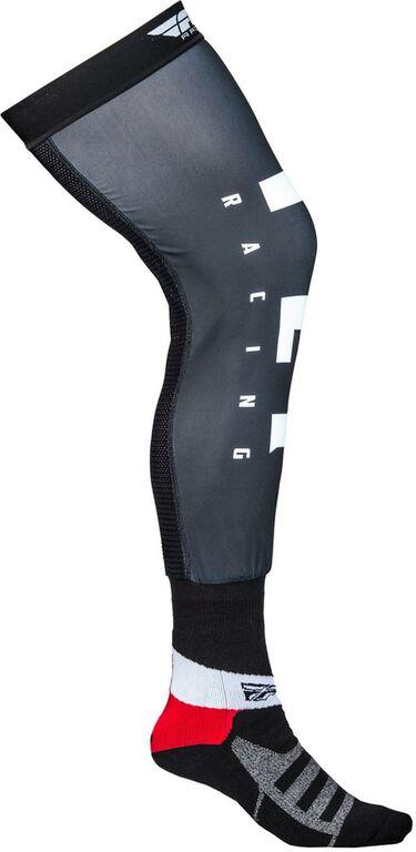 Obrázek produktu Ponožky dlouhé Knee Brace, FLY RACING (černá/bílá/šedá) 350-0445