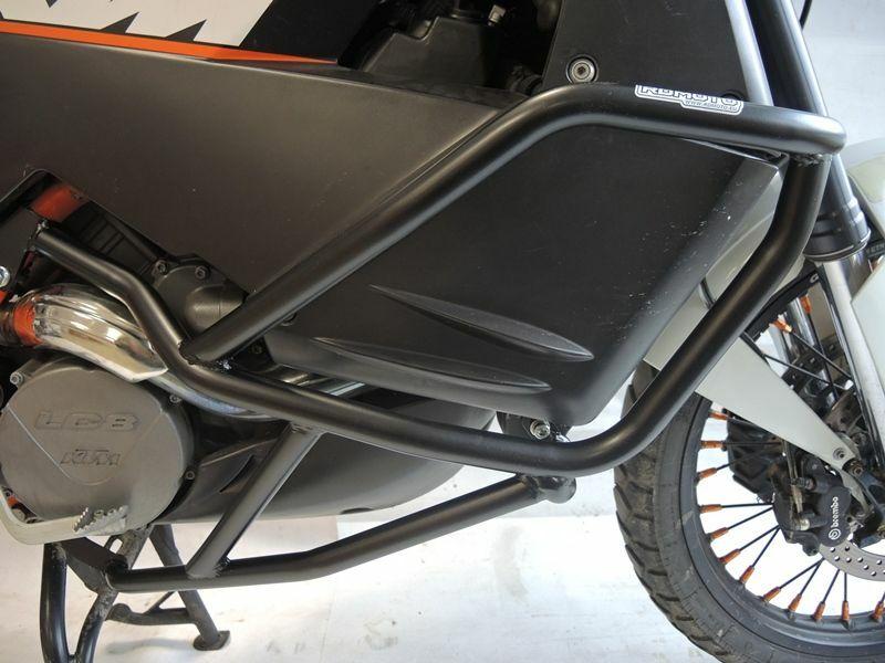 Obrázek produktu Ochranné rámy motoru RDMOTO matná černá