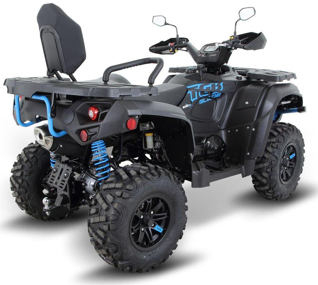 ATV TGB BLADE 600i LTX EPS 4x4 LED EURO 4 černá matná-2