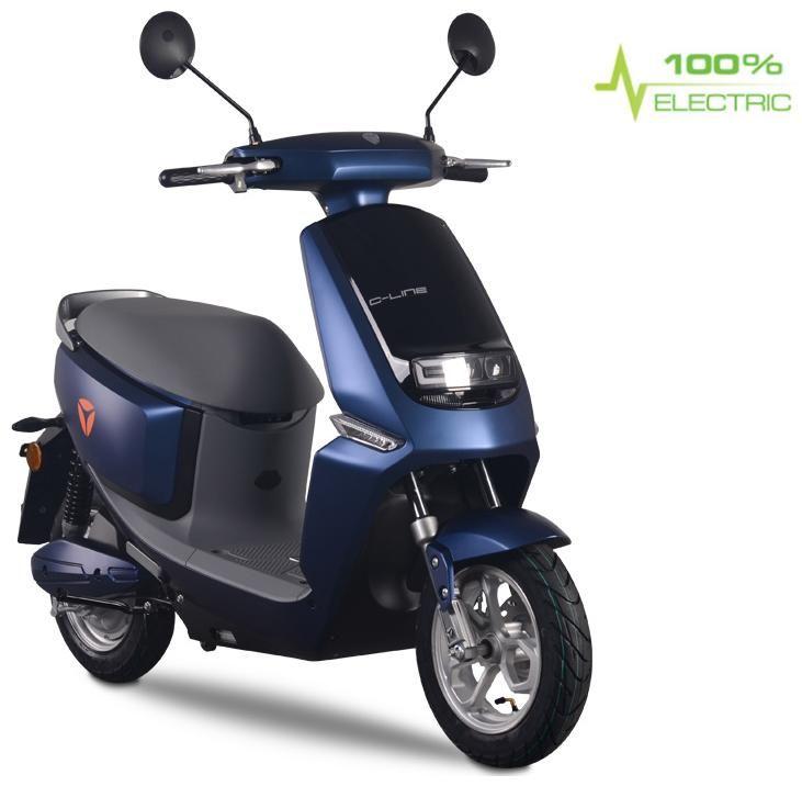 Obrázek produktu E-skútr YADEA C-LINE modrá