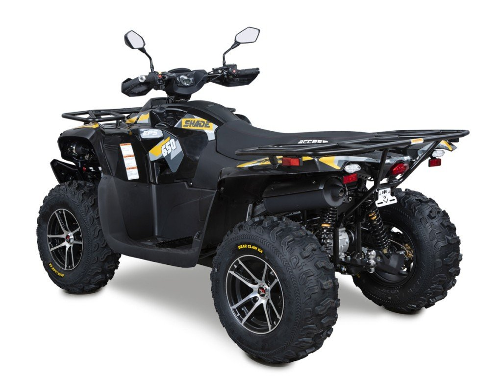 Užitková ATV ACCESS SHADE 650 LT EPS EURO 4 černá -4