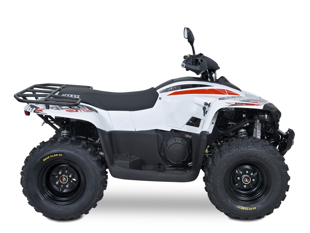 Užitková ATV ACCESS 650 LT 4WD EURO 4 bílá-1
