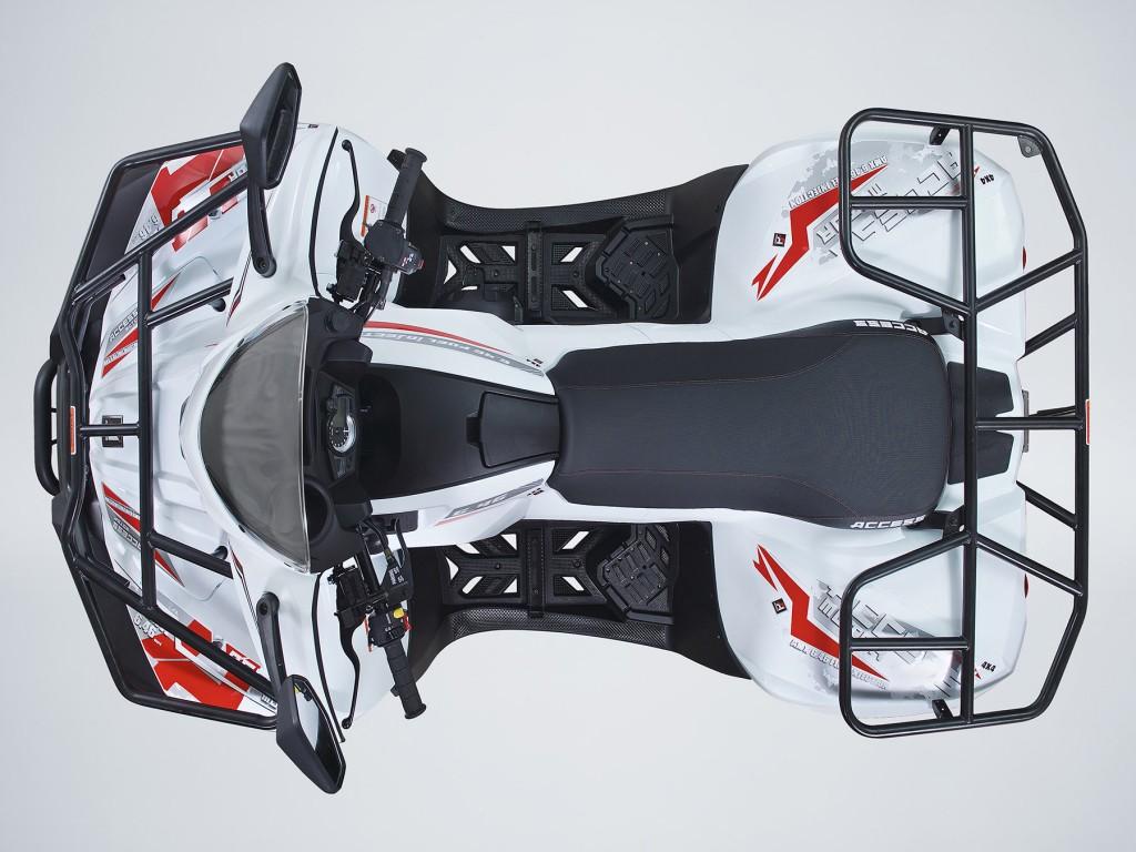 Užitková ATV ACCESS 650 LT 4WD EURO 4 bílá-2