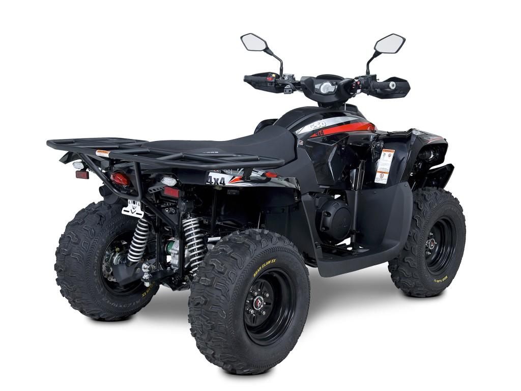 Užitková ATV ACCESS 650 LT 4WD EURO4 černá -1