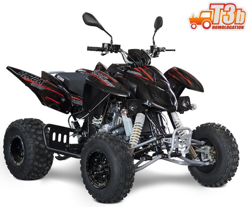 Obrázek produktu Sportovní ATV ACCESS TOMAHAWK 400 Black Edition ALLOY NERF BAR, T3B