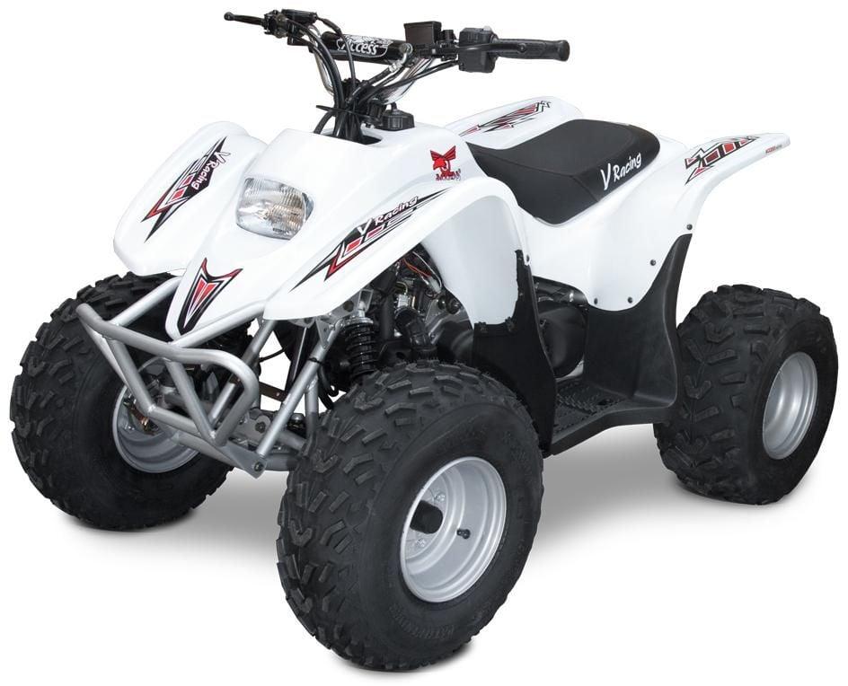 Obrázek produktu Juniorská ATV ACCESS DRR 100 se zpátečkou bílá