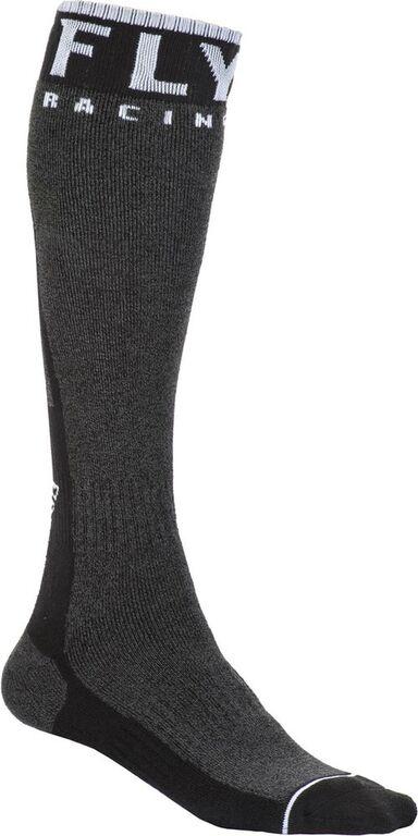 Obrázek produktu Ponožky dlouhé Knee Brace, FLY RACING (černá/bílá) 350-0452