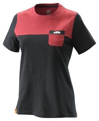 Obrázek produktu dámské tričko PURE, KTM (černé) 3PW20001360X