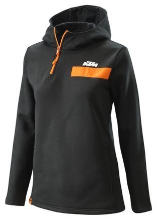 Obrázek produktu dámská mikina PURE ZIP, KTM (černá) 3PW20001370X
