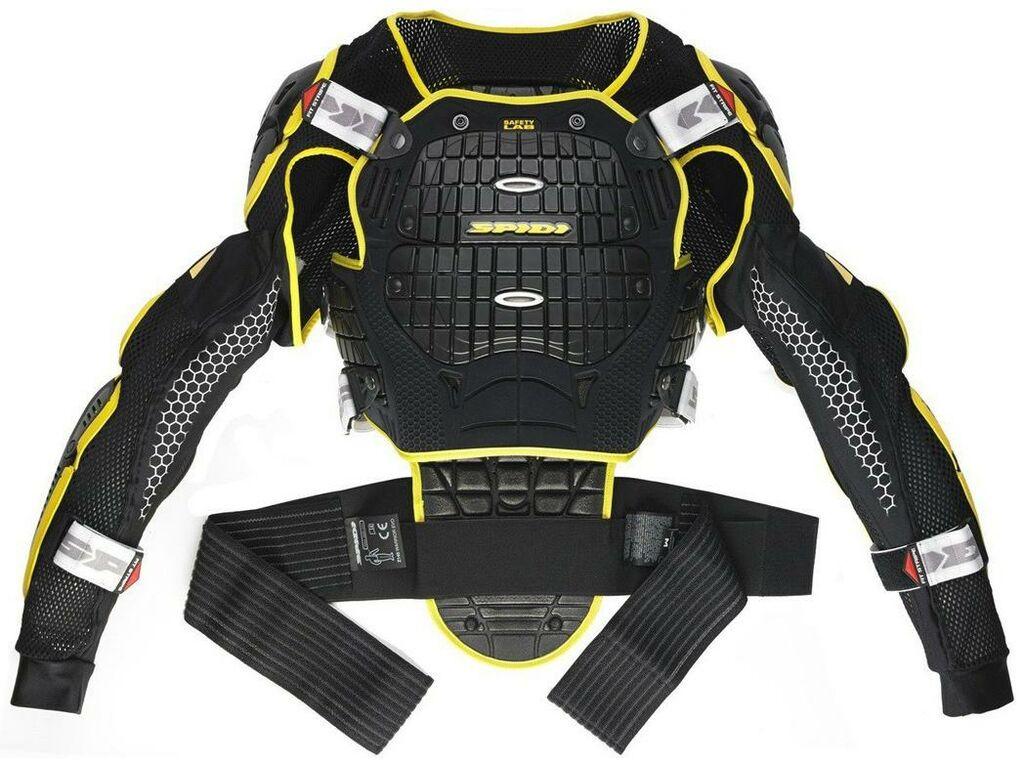 Obrázek produktu bunda WARRIOR JACKET, SPIDI (černá/žlutá fluo) Z166-016