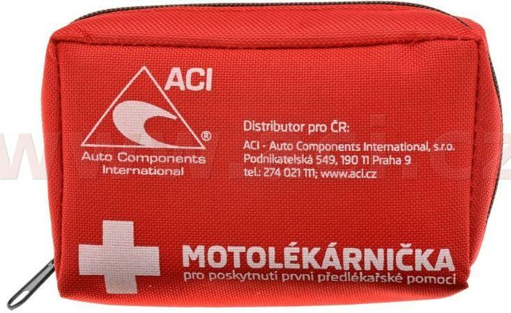 Obrázek produktu motolékárnička CZ - textilní (dle platné vyhlášky 216/2010 Sb.) lékárnička