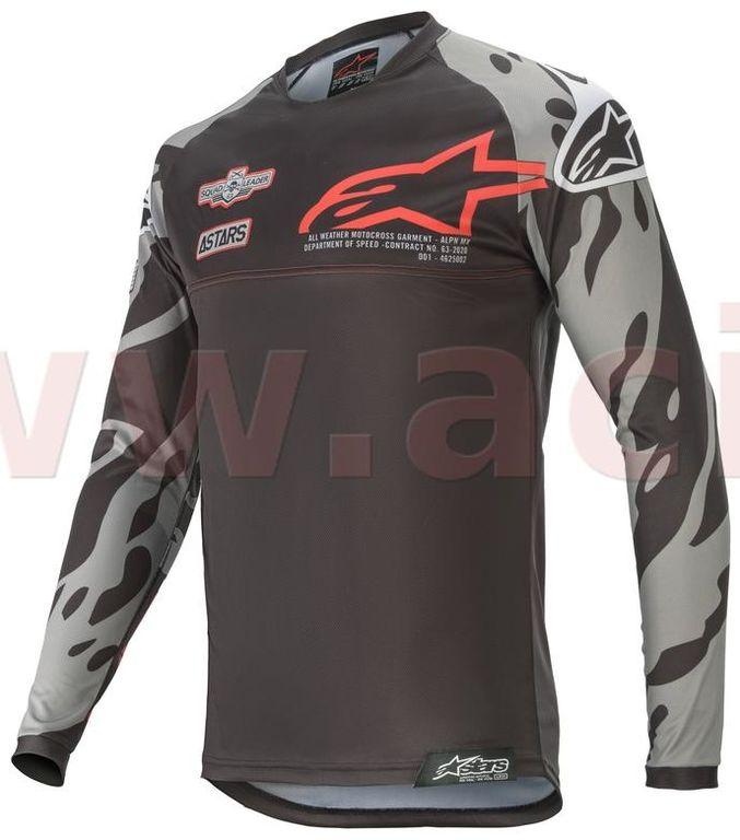 Obrázek produktu dres RACER TECH 2020 limitovaná edice SX SAN DIEGO, ALPINESTARS, dětský (černá/šedá/červená)