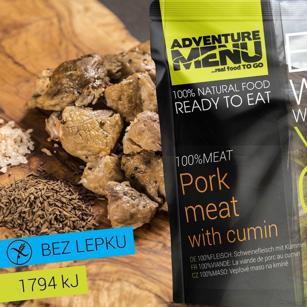 Obrázek produktu Adventure Menu 100% maso  Vepřové maso na kmíně advm21