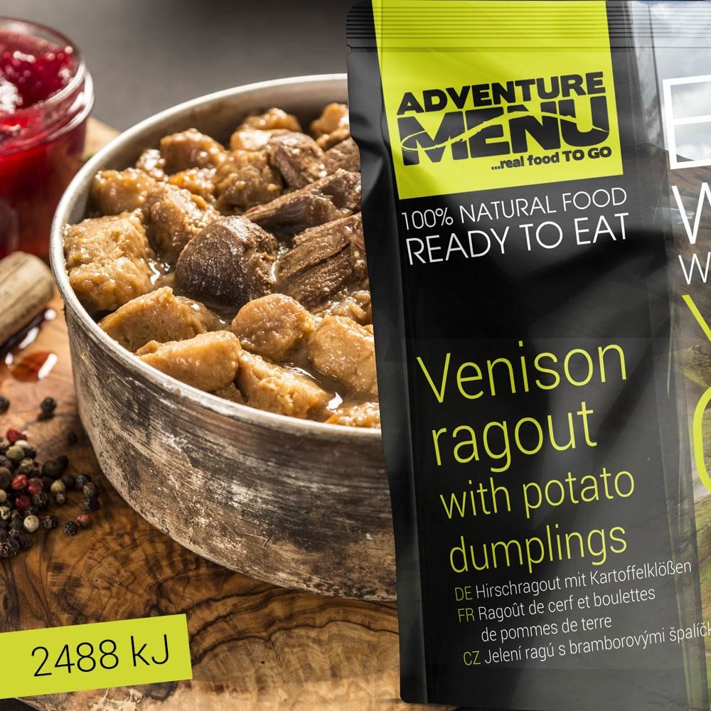 Obrázek produktu Adventure Menu Jelení ragú s bramborovými špalíčky advm01