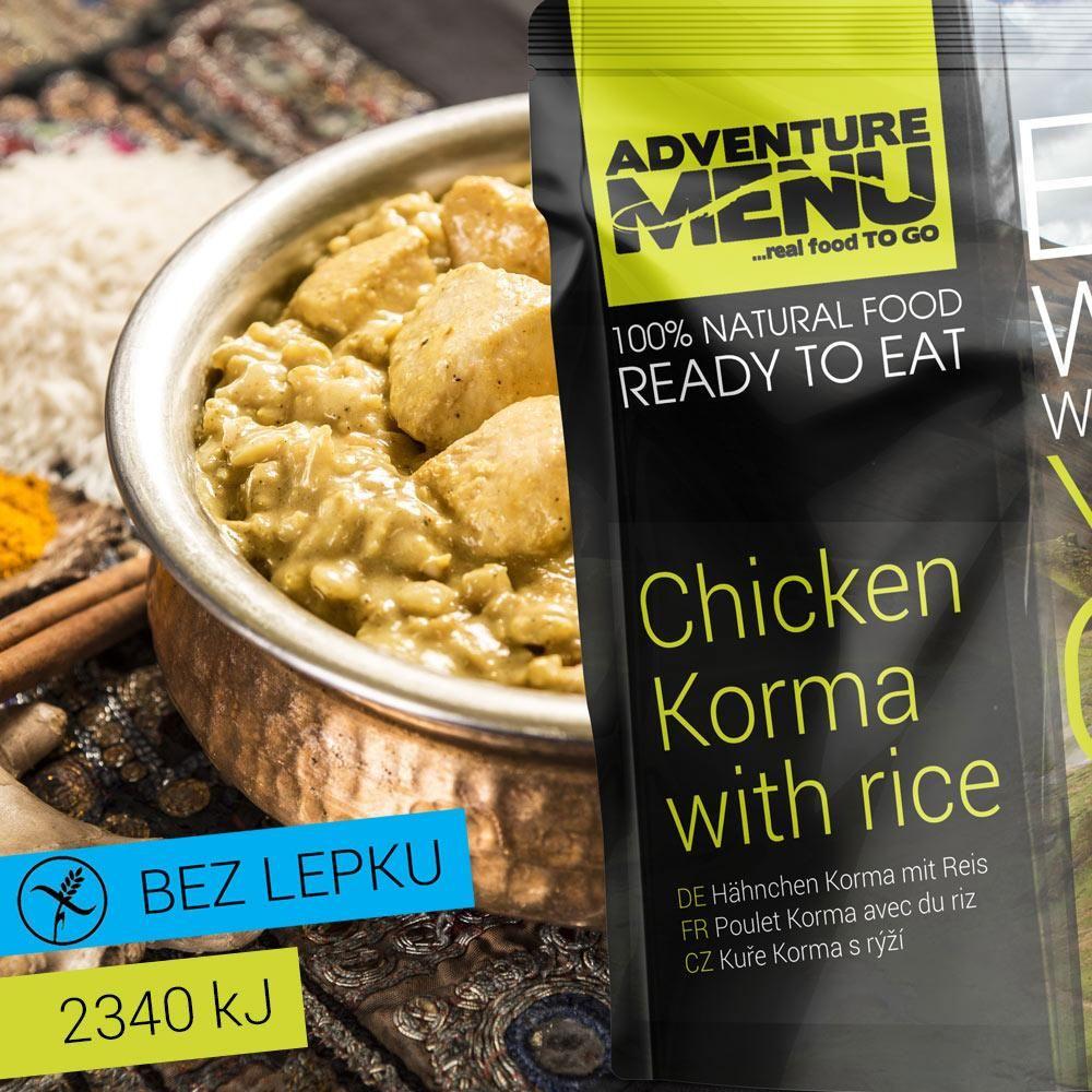 Obrázek produktu Adventure Menu Kuře Korma s rýží advm04