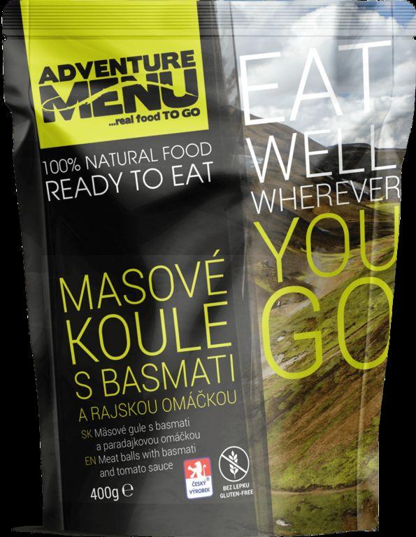 Obrázek produktu Adventure Menu Masové koule s basmati a rajskou omáčkou advm12