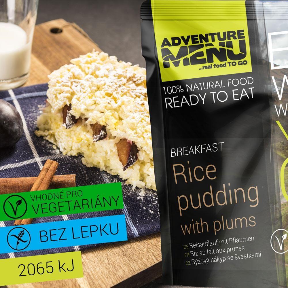 Obrázek produktu Adventure Menu Rýžový nákyp se švestkami advm30