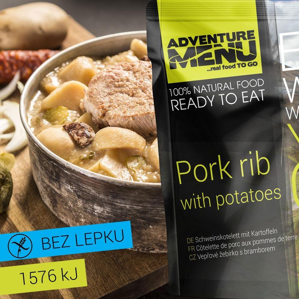 Obrázek produktu Adventure Menu Vepřové žebírko s bramborem advm06