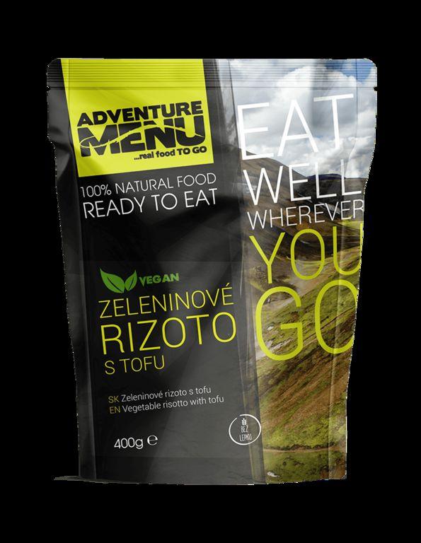 Obrázek produktu Adventure Menu Zeleninové rizoto s tofu advm13